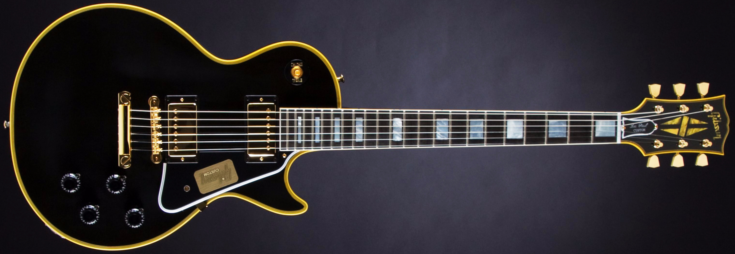 GIBSON 1957 True Historic Les Paul Custom Vintage Ebony #75314