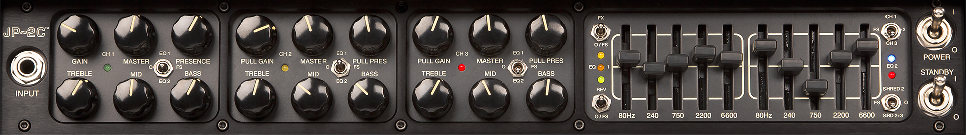 MESA BOOGIE JP-2C Limited Edition Panel Front