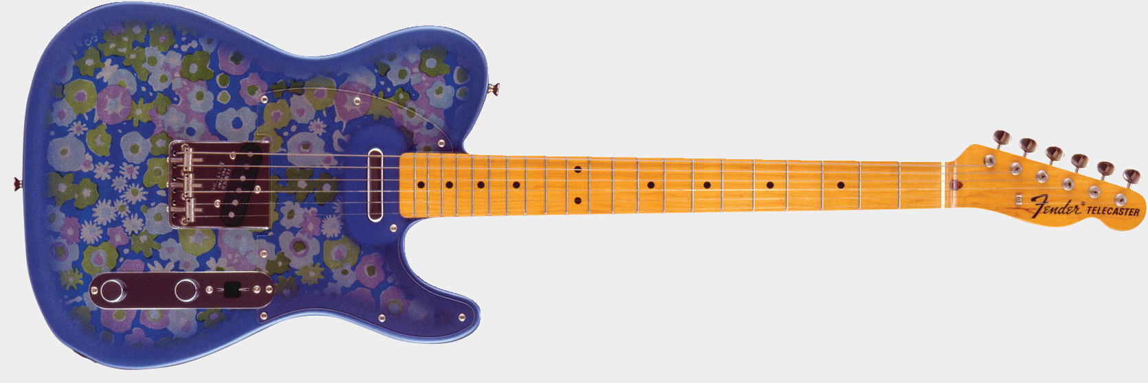 FENDER Japan FSR Classic '69 Telecaster Blue Flower