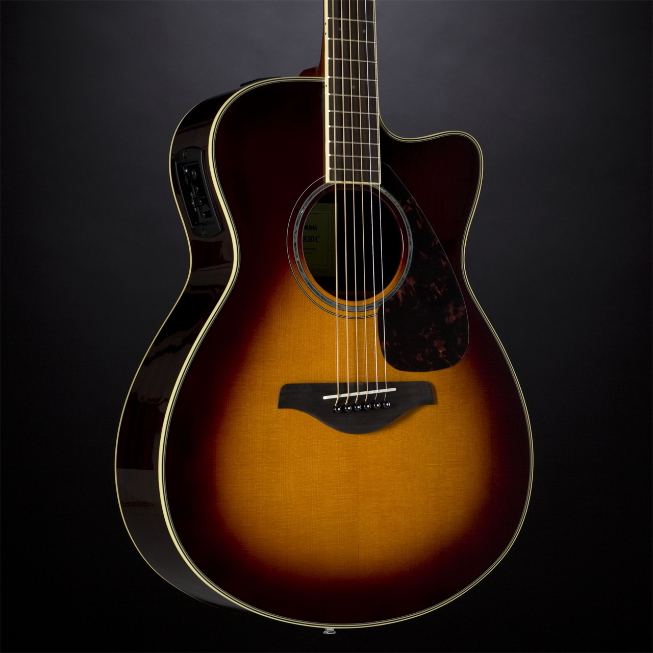 Yamaha FSX830C BS Brown Sunburst