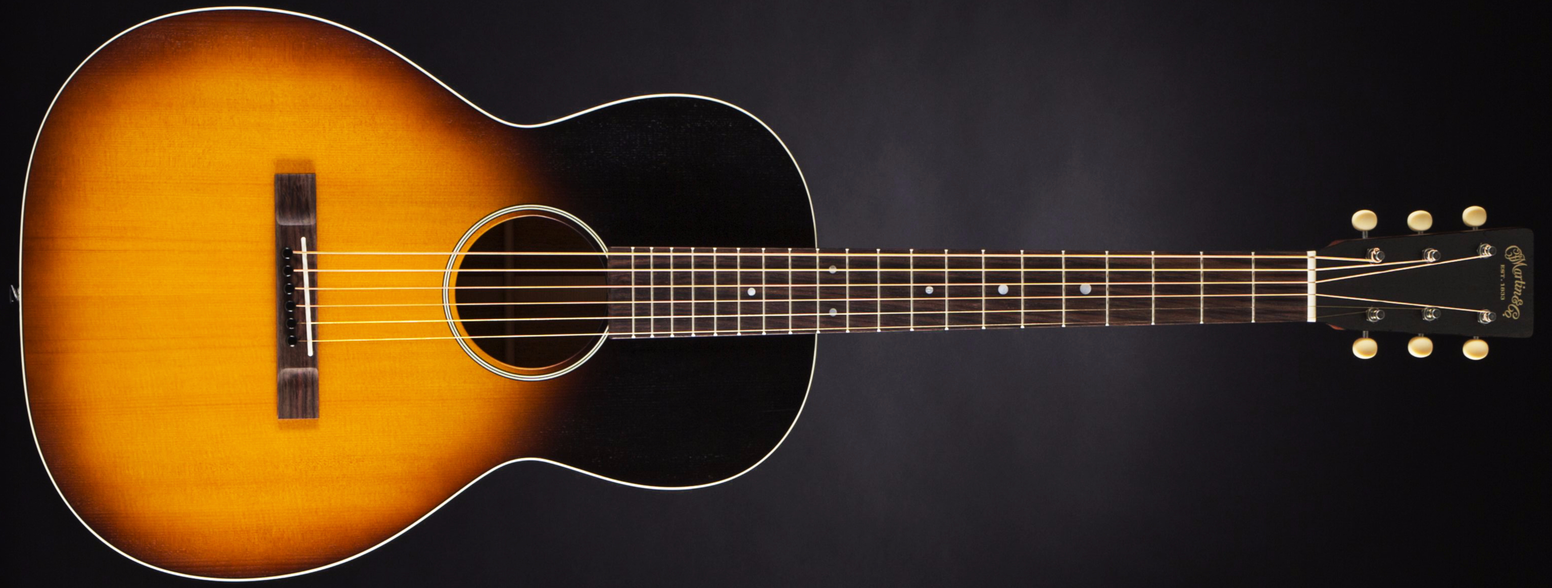 Martin 00-17S Whiskey Sunset Front