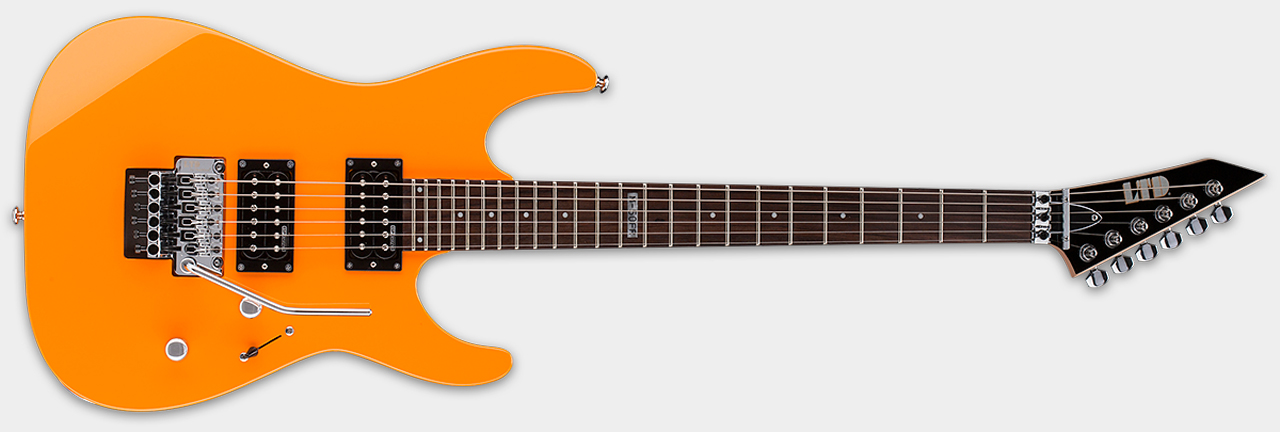 ESP LTD M-50FR NGR Neon Orange