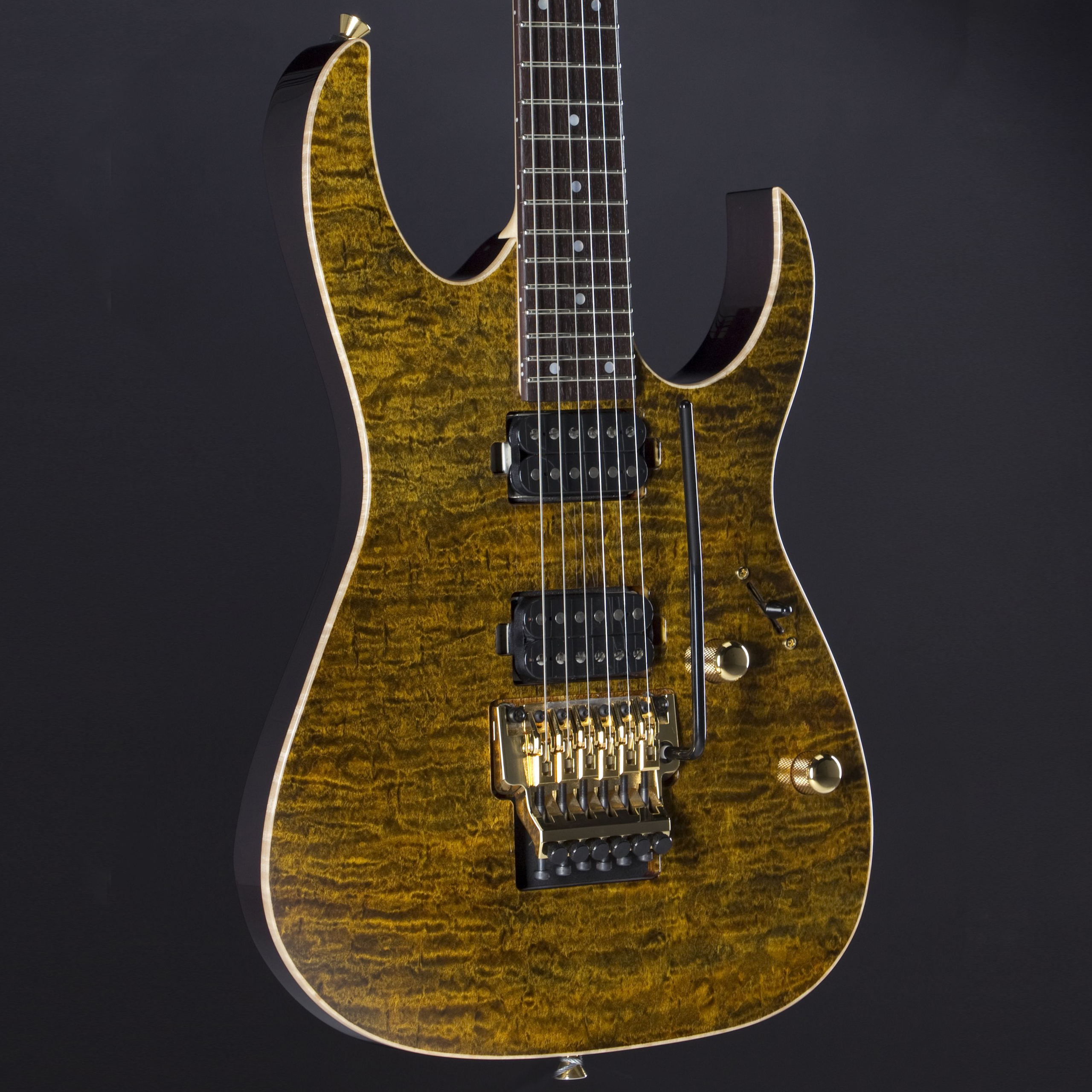 IBANEZ j.custom JCRG11R-GTE Golden Tiger Eye Korpus