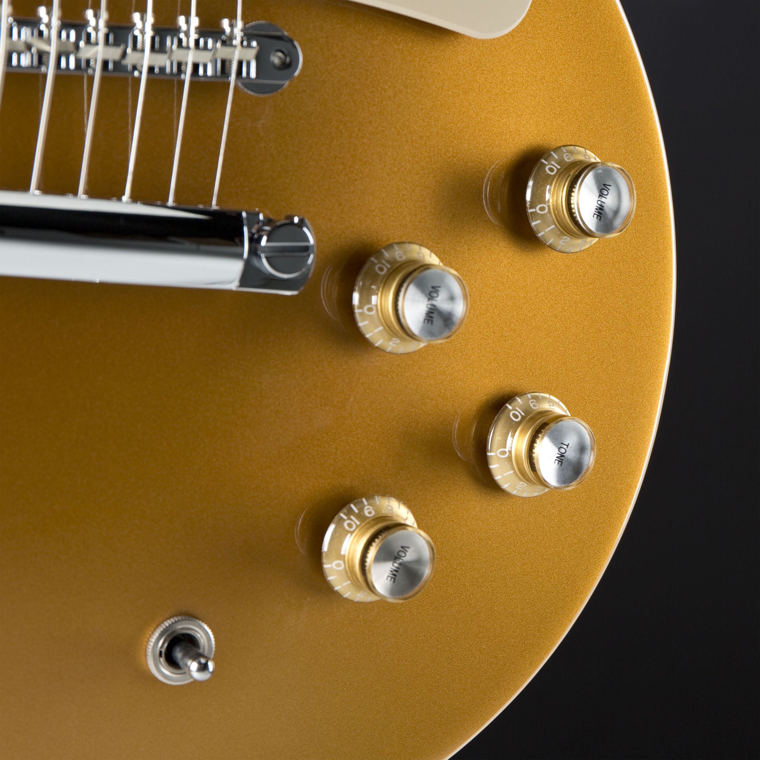 GIBSON Les Paul Pete Townshend Deluxe Gold Top '76 Detail