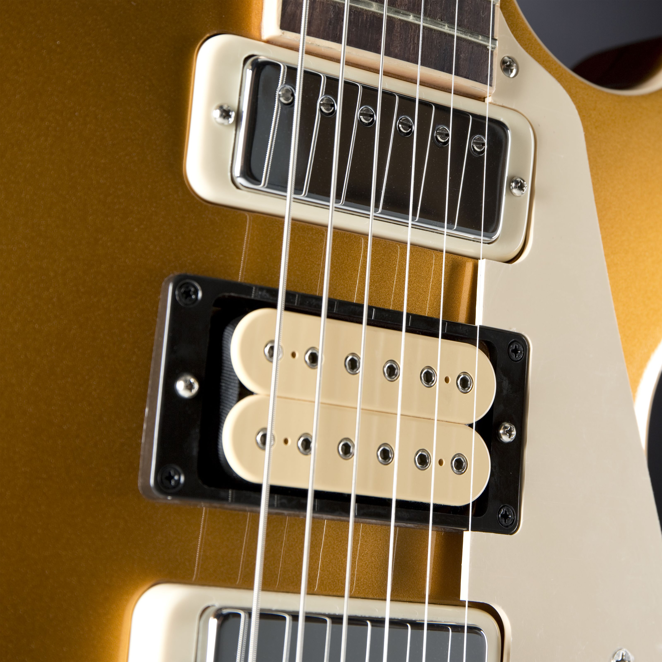 GIBSON Les Paul Pete Townshend Deluxe Gold Top '76 Pickups