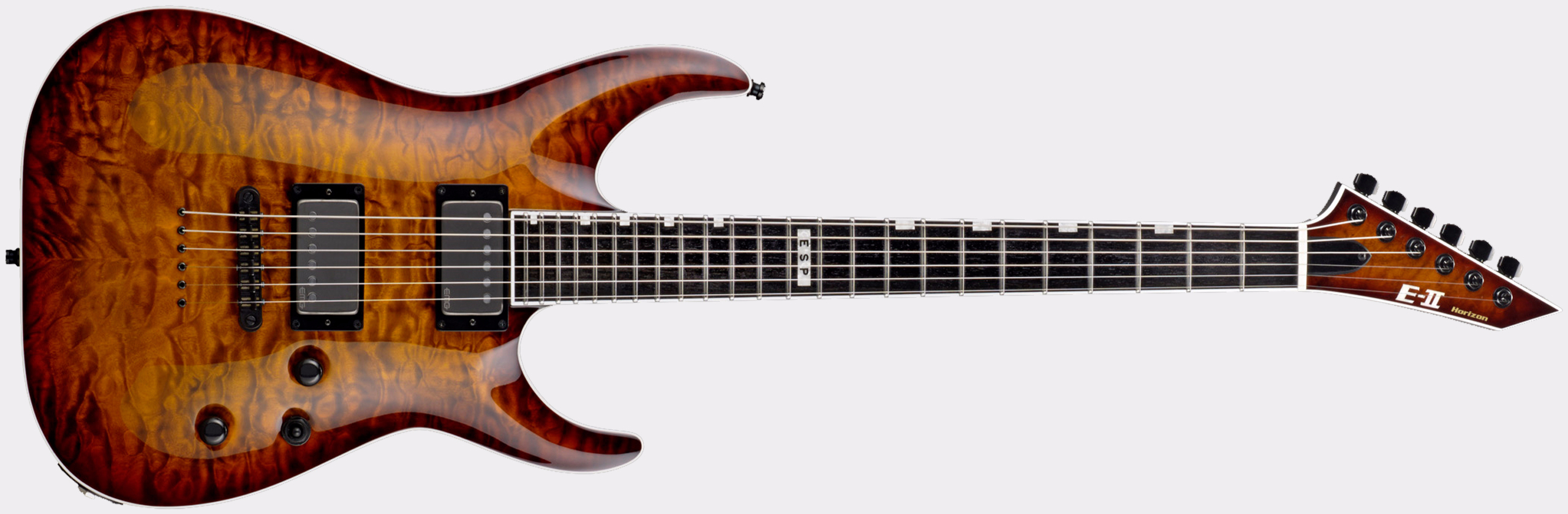 ESP E-II Horizon NT-II Tiger Eye Sunburst