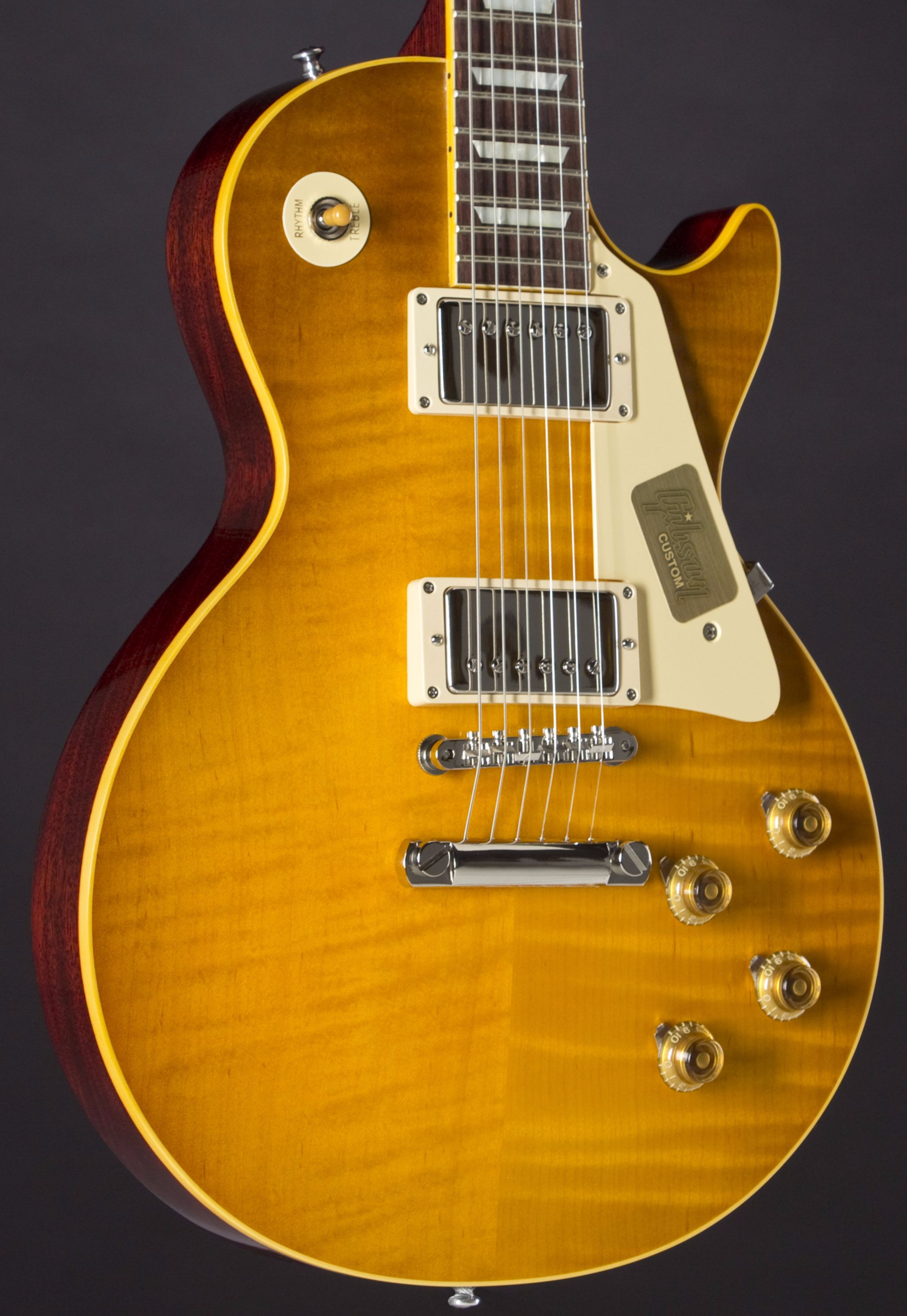 GIBSON Ace Frehley 1959 Les Paul Standard #AF088 Body Detail