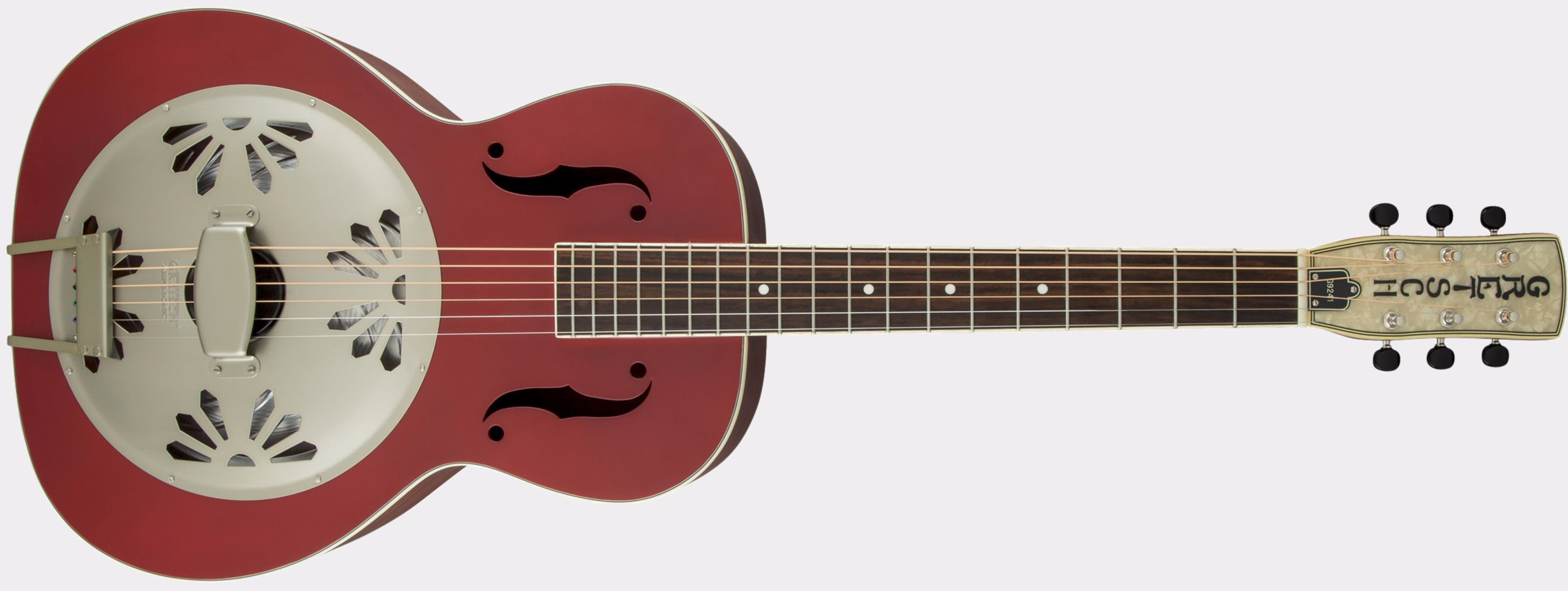 Gretsch G9241 Alligator Round Neck Chieftain Red Front