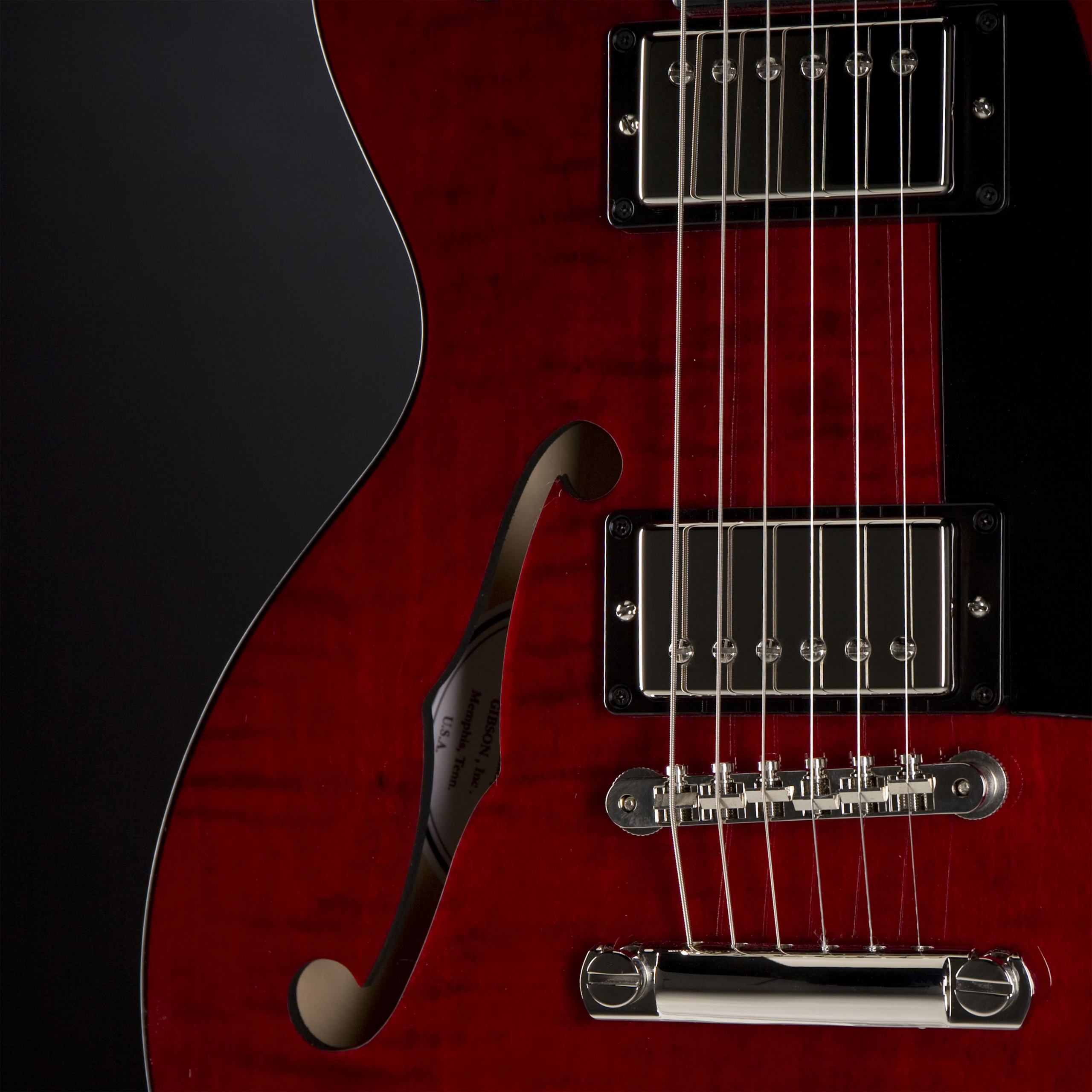 GIBSON ES-Les Paul Studio Wine Red #11026712 Tonabnehmer