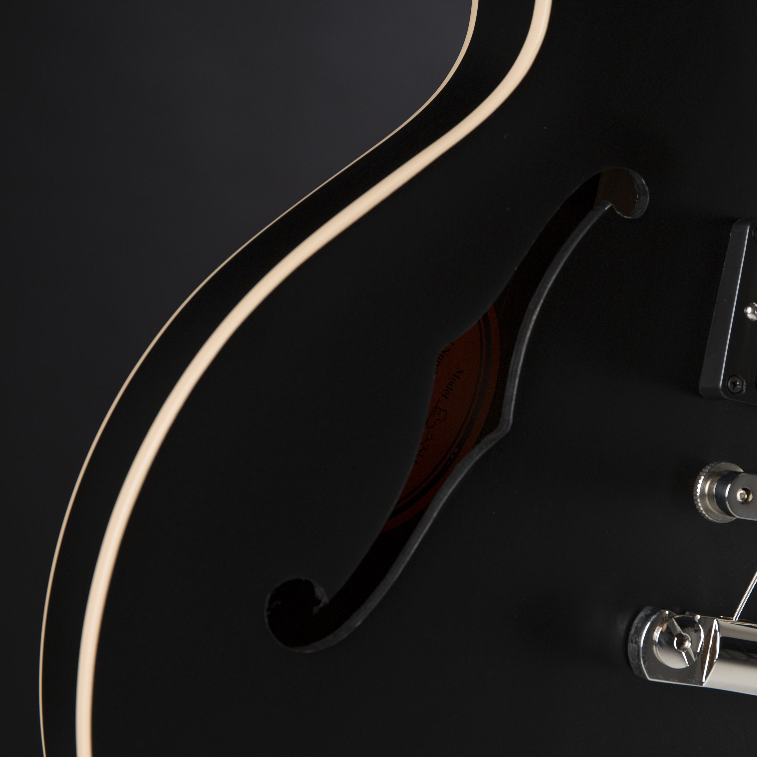 GIBSON ES-339 Satin Ebony Detail