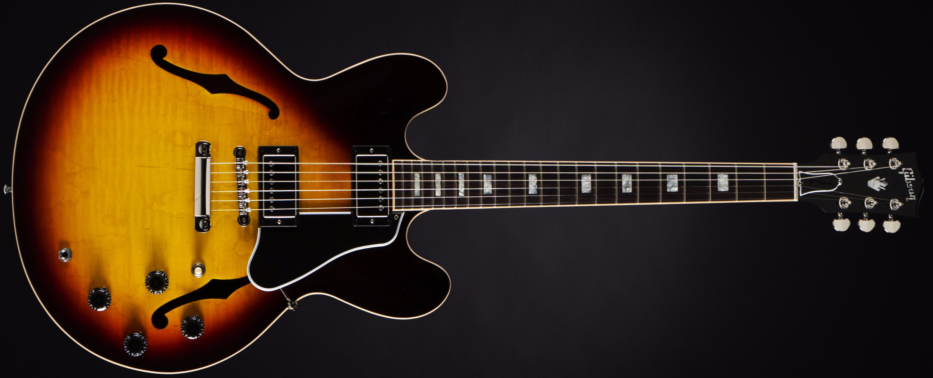 Gibson ES-335 Slim Neck Sunset Burst Front