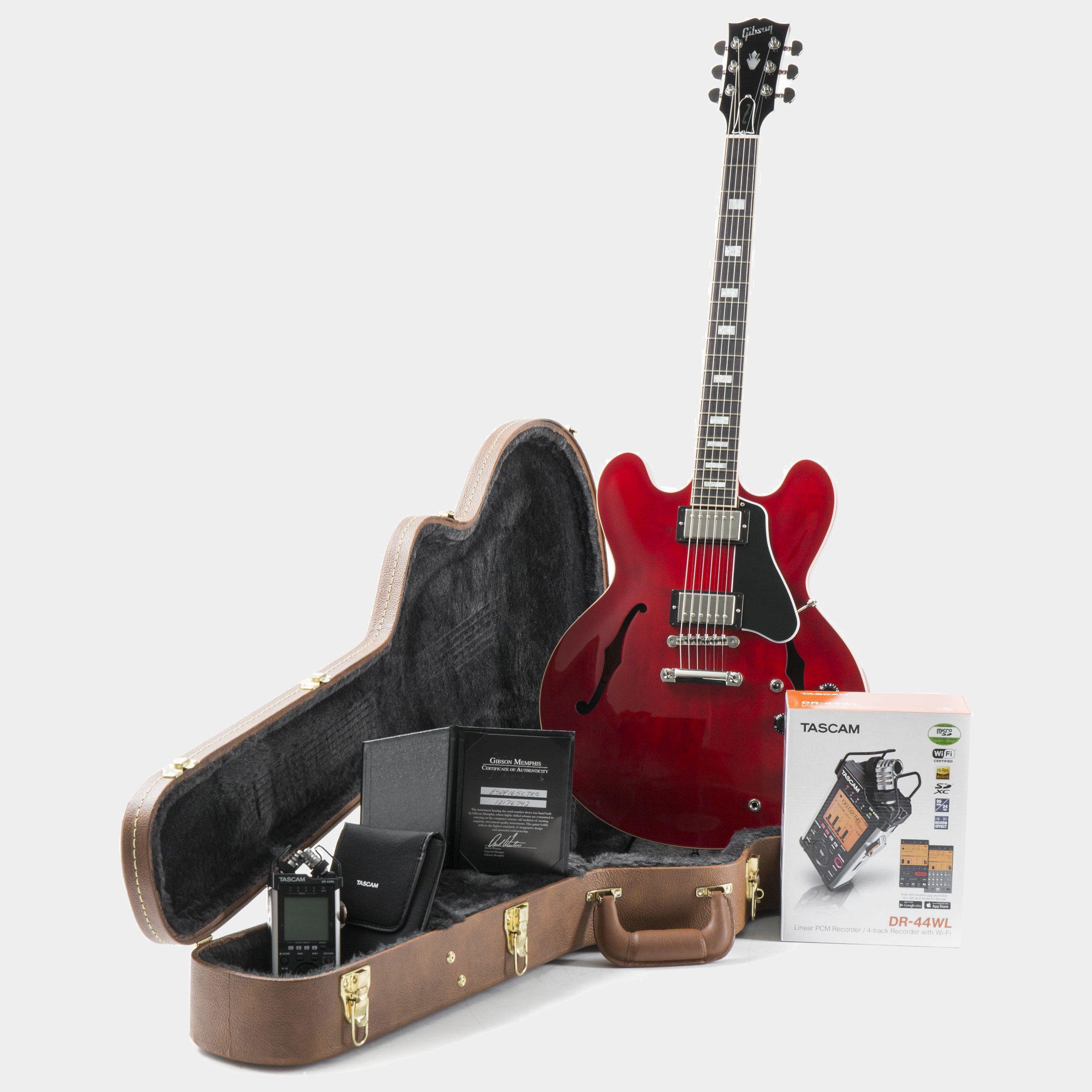 GIBSON ES-335 DR-44WL Combo #12176742