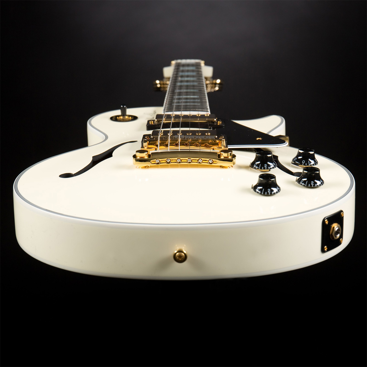 GIBSON Alex Lifeson ES-Les Paul Classic White #87 of 200 Detail