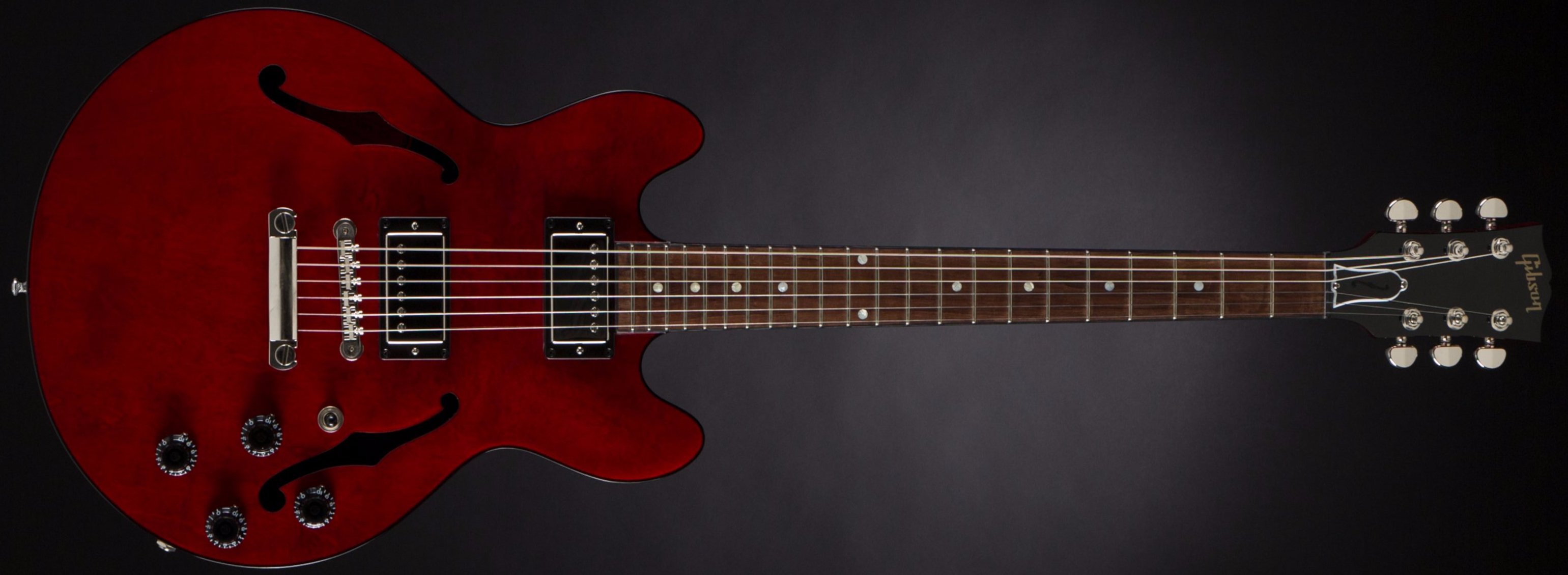 Gibson ES-339 Studio Wine Red Front