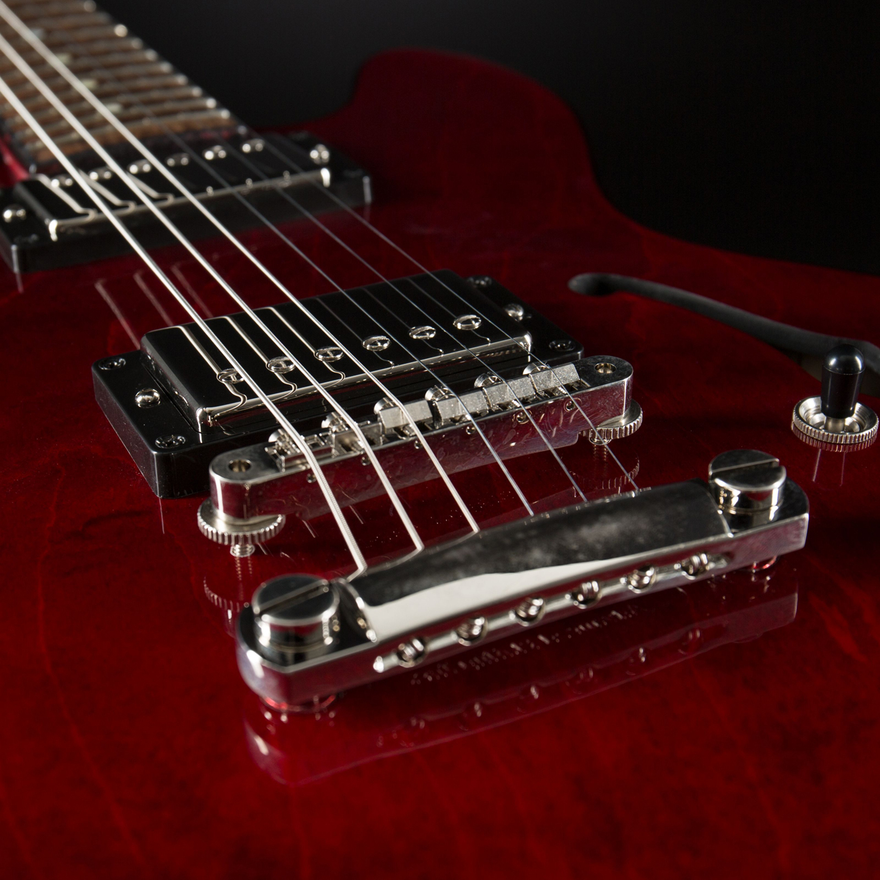 Gibson ES-339 Studio Wine Red Pickups