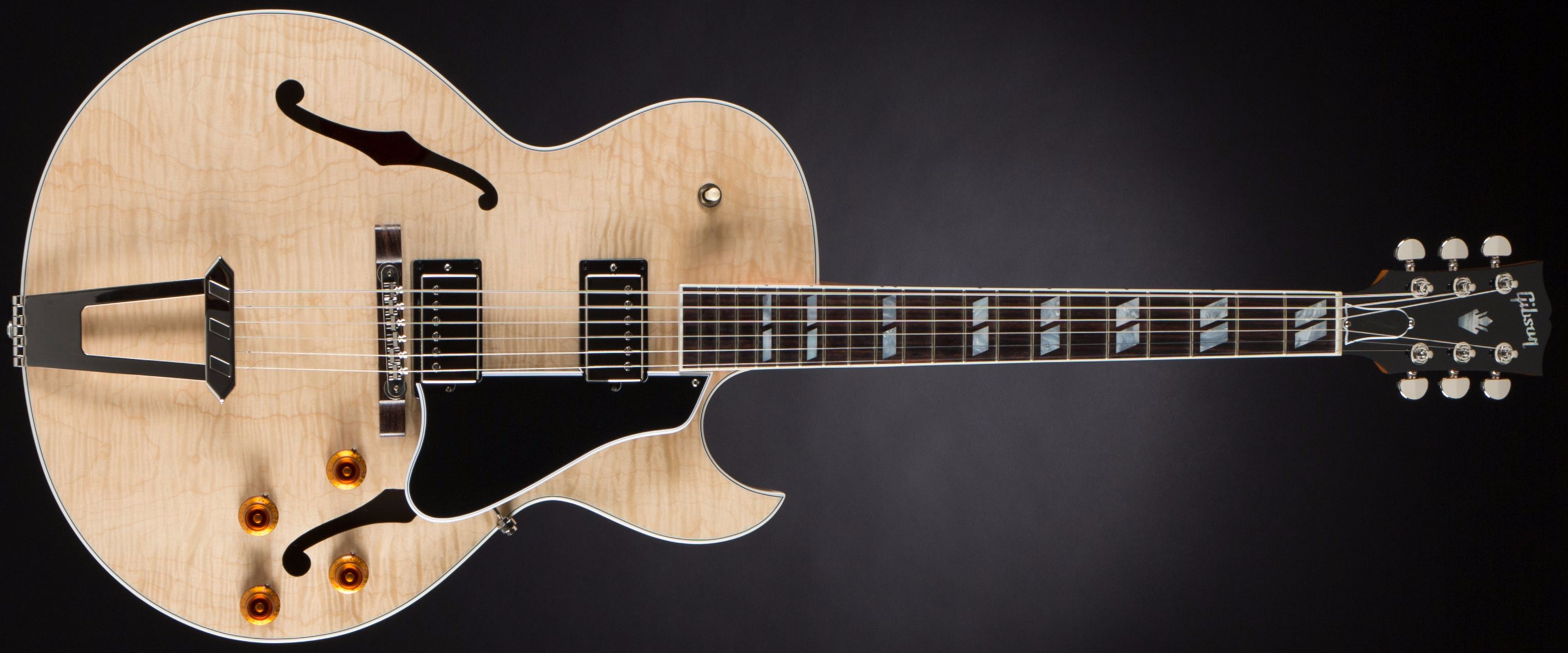 Gibson ES-175 Figured Natural Front