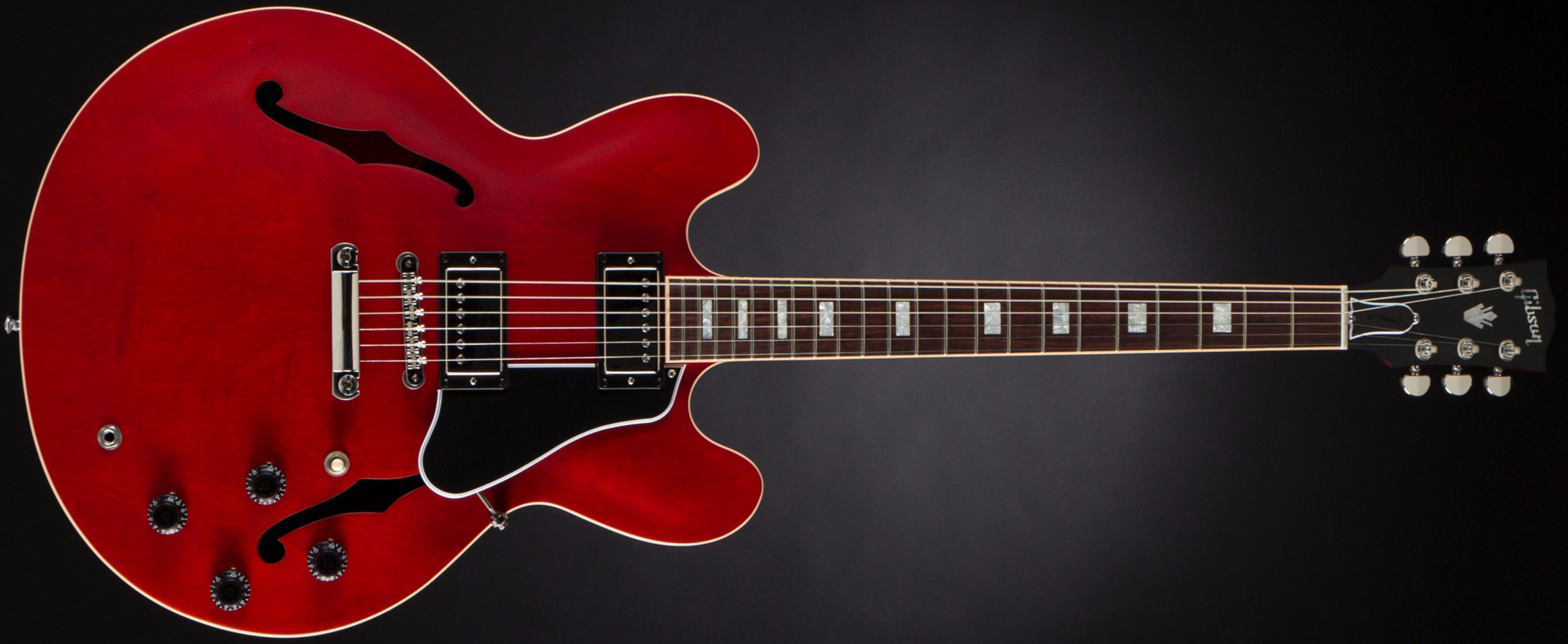 Gibson ES-335 Satin Faded Cherry Front