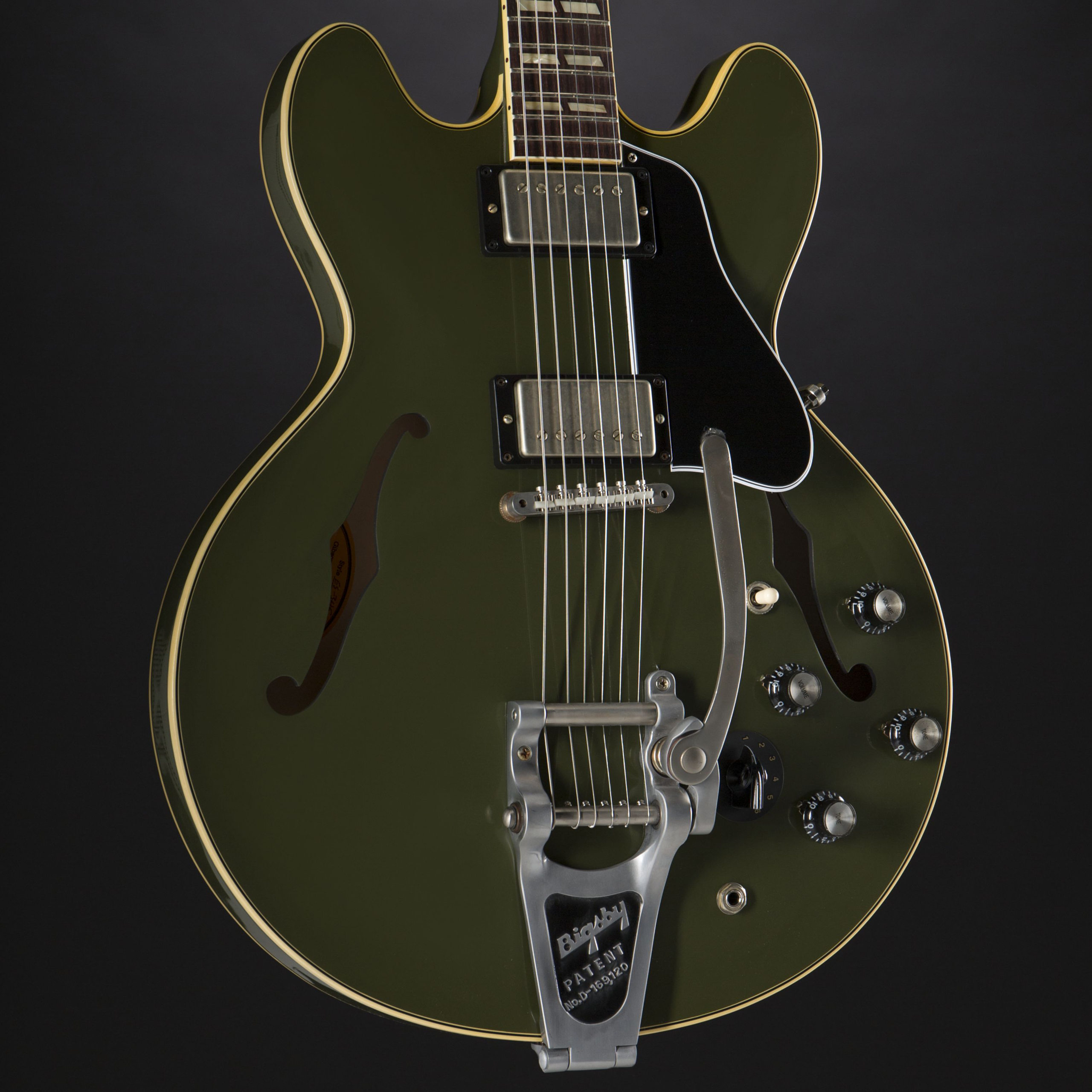 GIBSON 1964 ES-345 Bigsby Olive Drab Green 61579