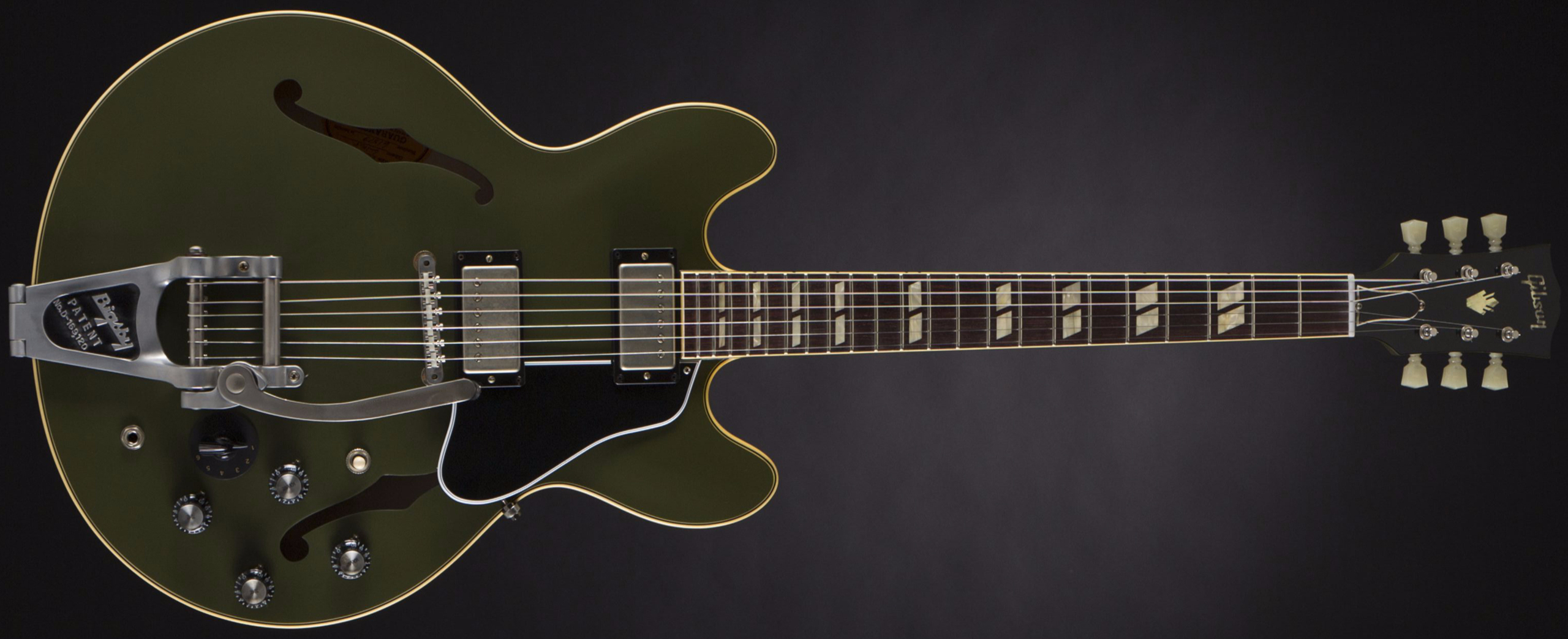 GIBSON ES-345 Bigsby Olive Drab Green #61579