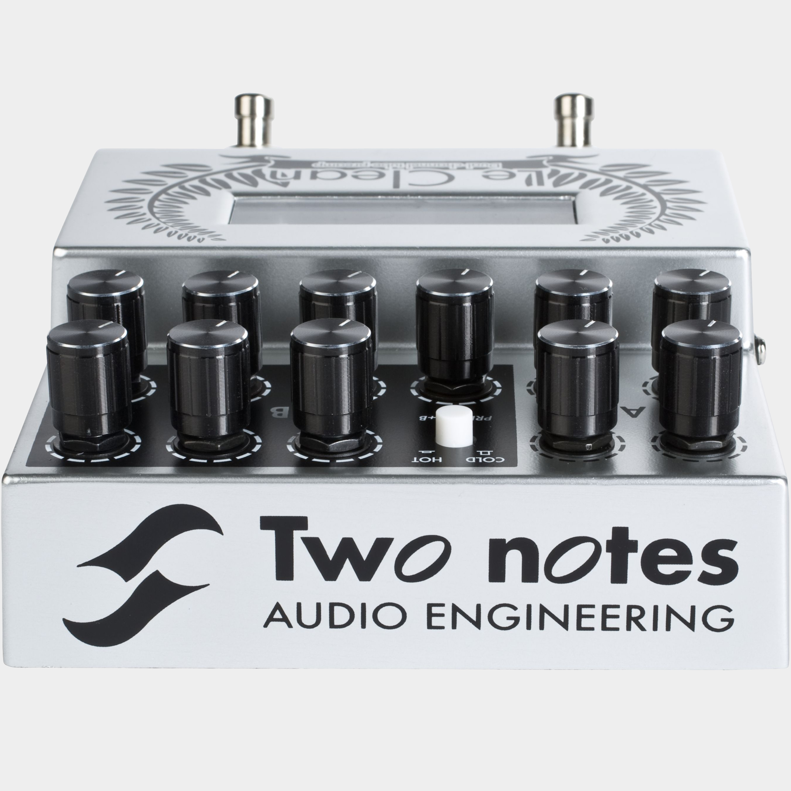 TWO NOTES Le Clean Rückseite