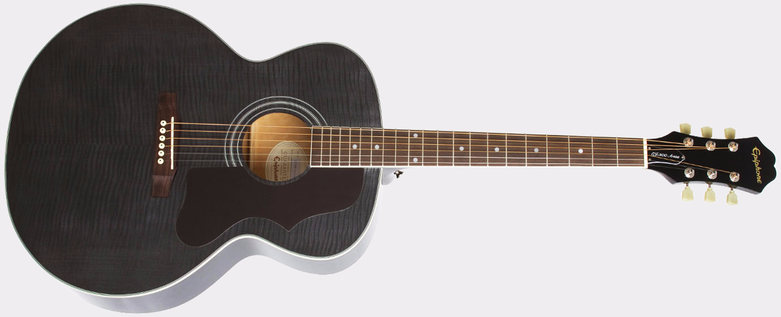 EPIPHONE Limited Edition EJ-200 Artist Trans Black