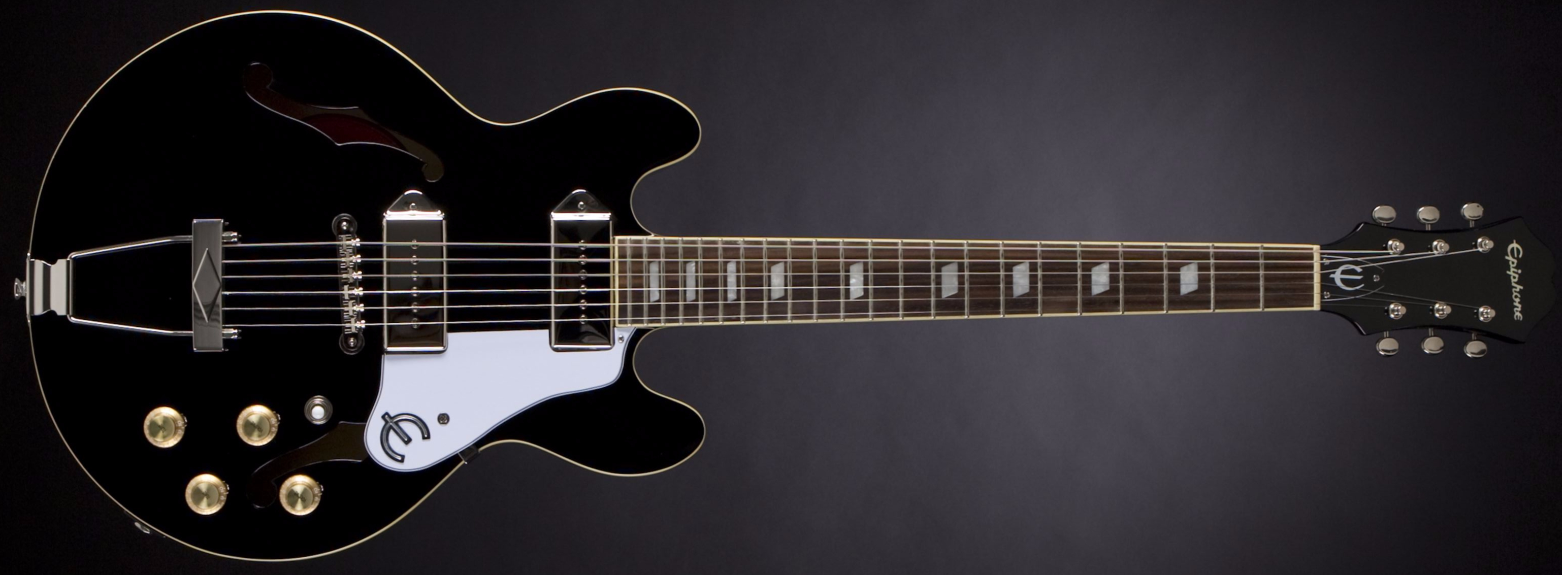 Epiphone Casino Coupe Limited Ebony Front
