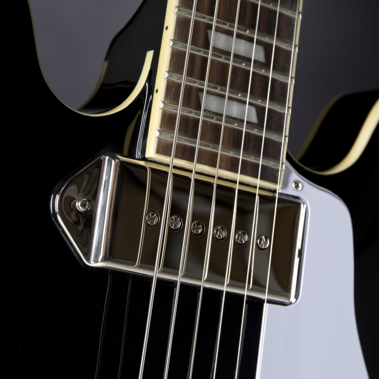 Epiphone Casino Coupe Limited Ebony Pickup