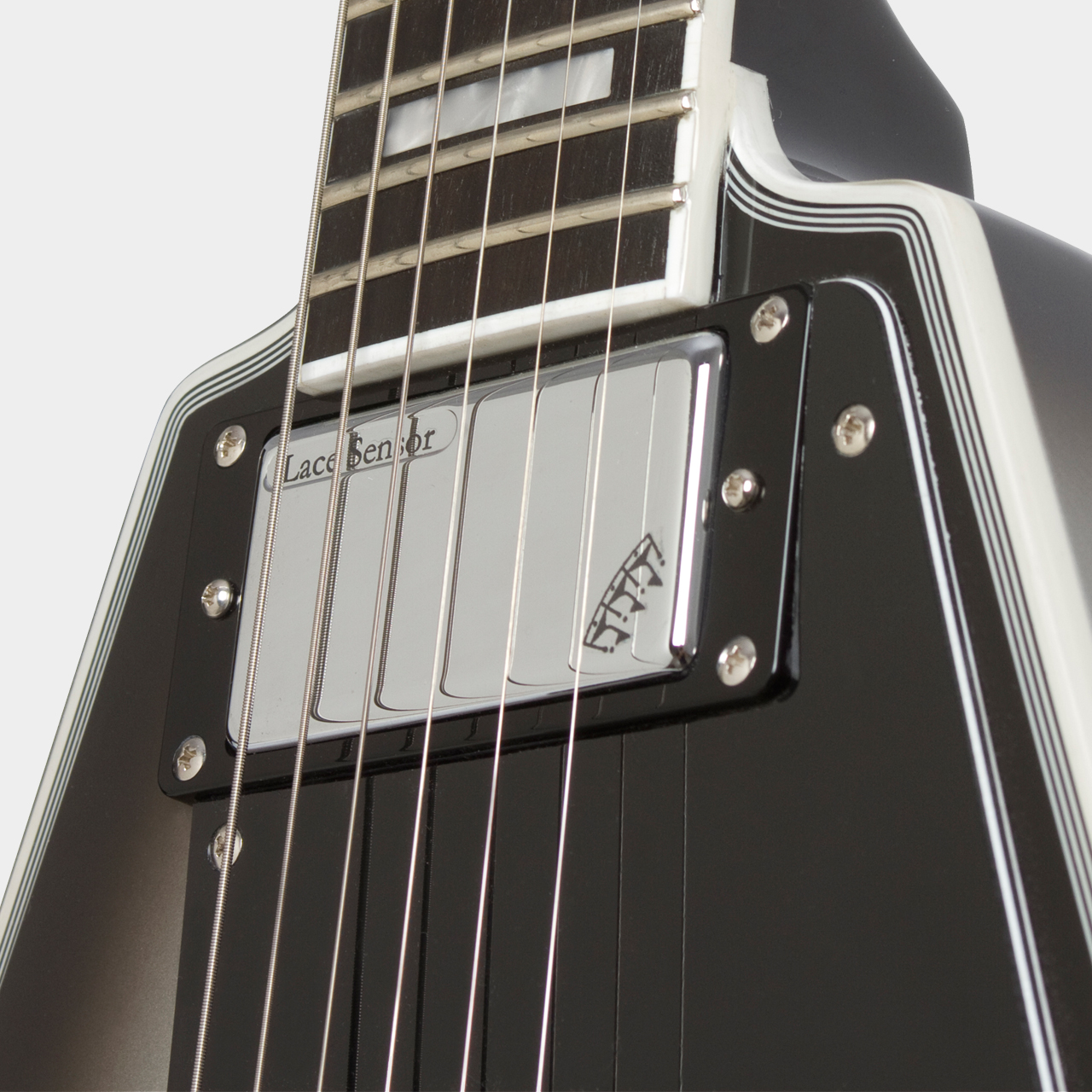 EPIPHONE Limited Edition Brent Hinds Flying V Custom Pickup Detail