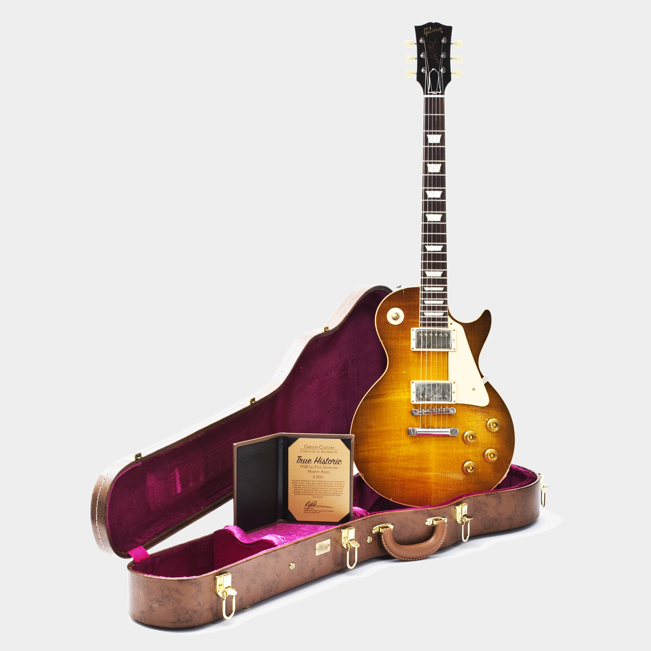 True Historic 1958 Les Paul Case