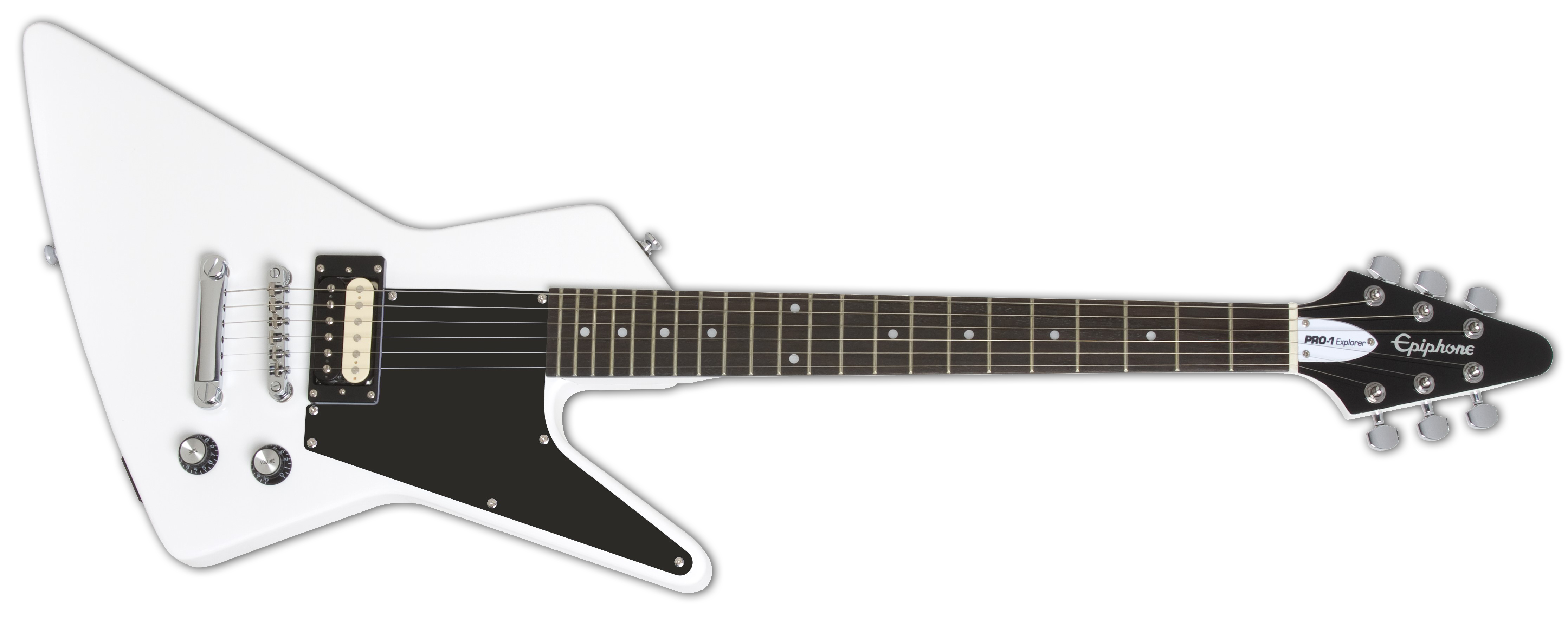 Epiphone PRO-1 Explorer Pack Alpine White Front