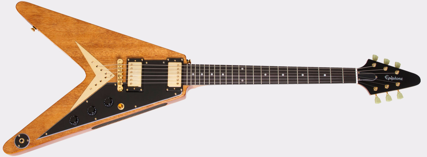 Epiphone Korina Flying V Limited AN Front