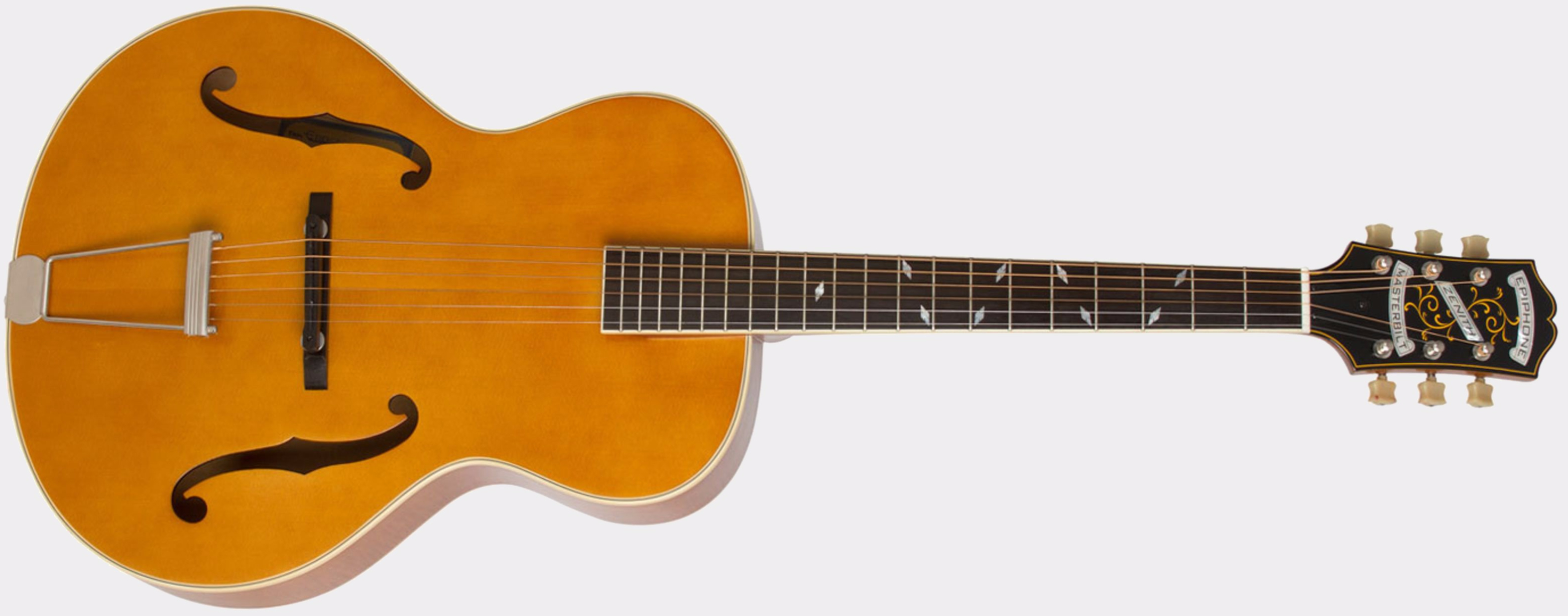 Epiphone Zenith F-Hole Natural Front