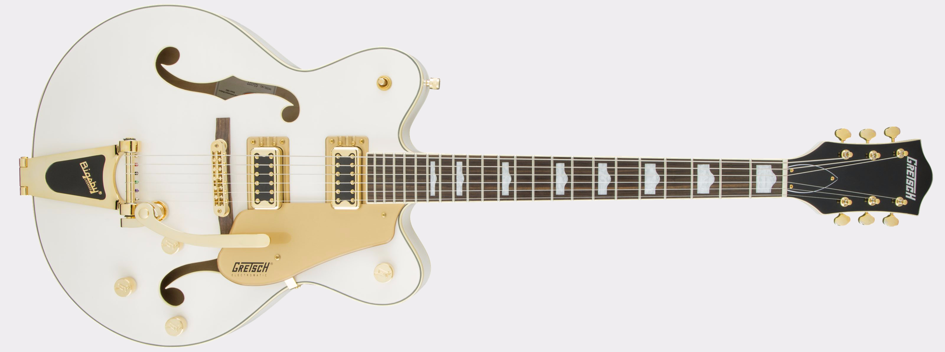 Gretsch G5422TG Electromatic Snowcrest White Front