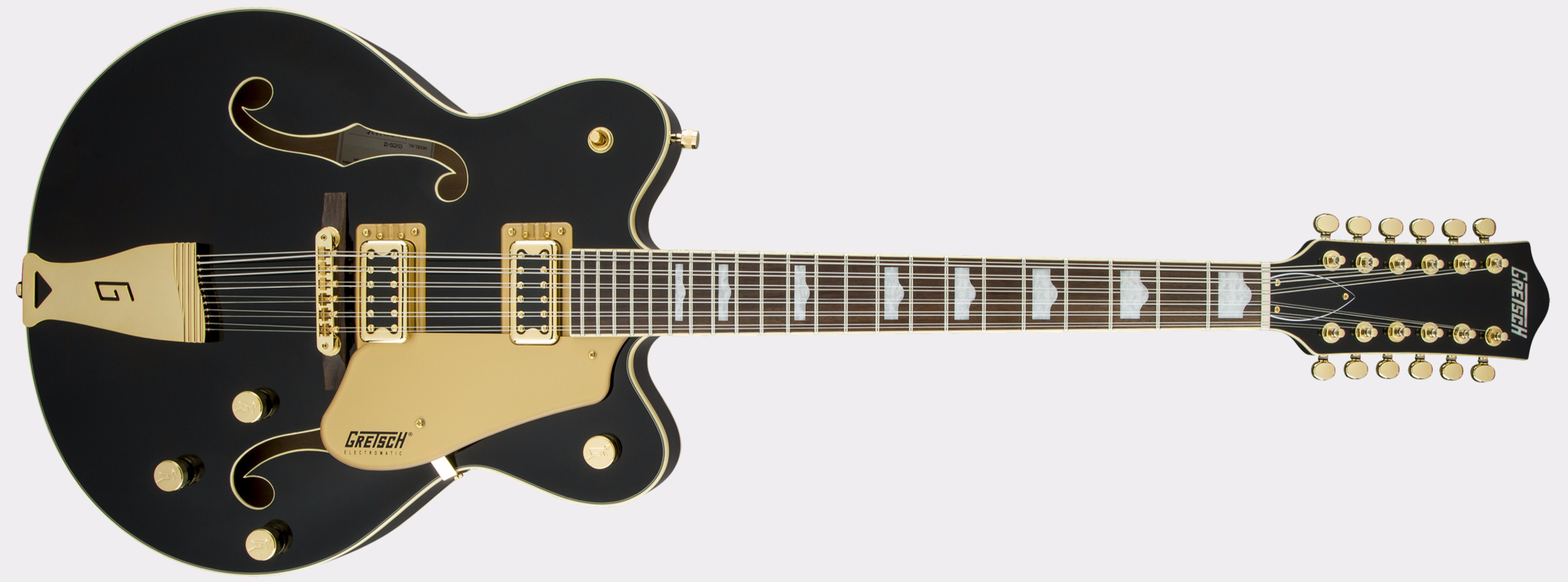 GRETSCH G5422G-12 Electromatic Hollow Body Double-Cut 12-String Black