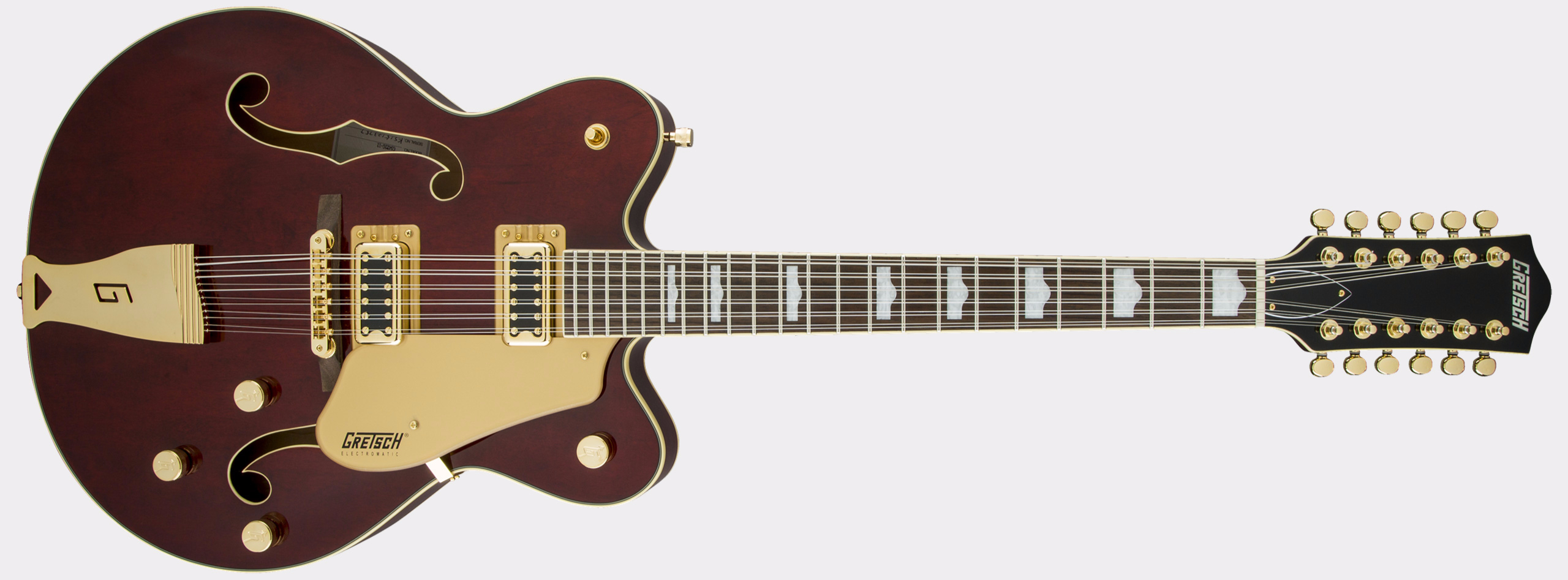 GRETSCH G5422G-12 Electromatic Hollow Body Double-Cut 12-String Walnut Stain