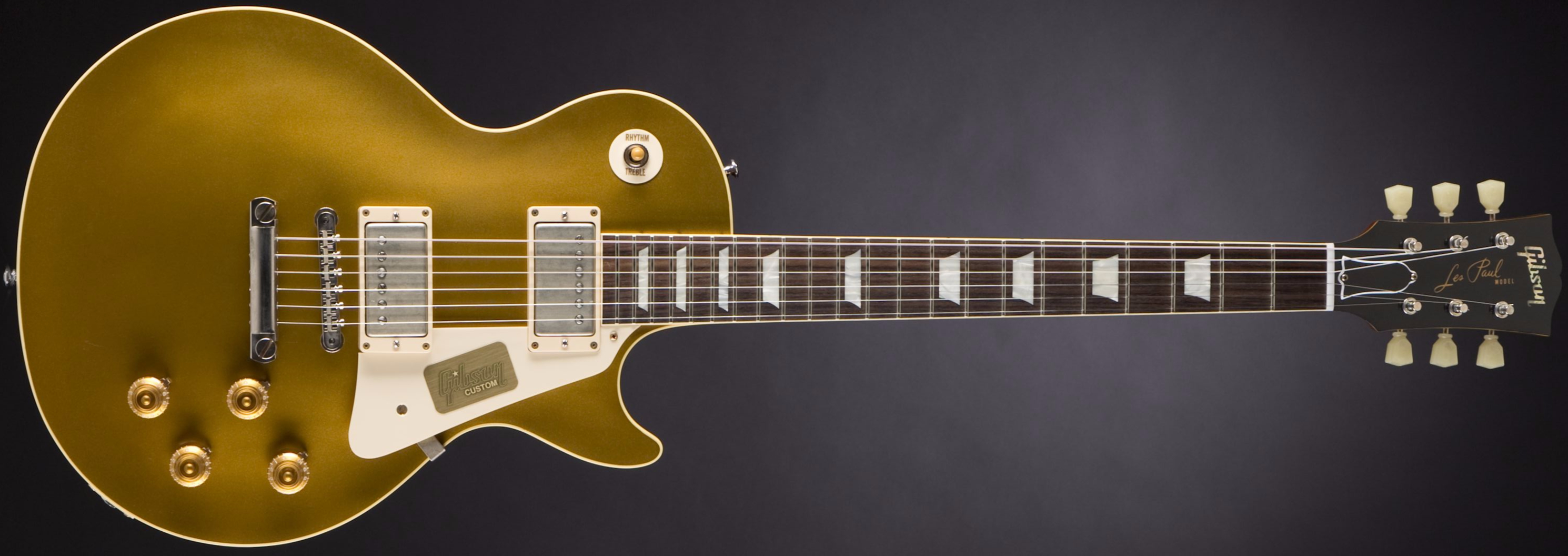 GIBSON Standard Historic 1957 Les Paul Standard Goldtop #R760235