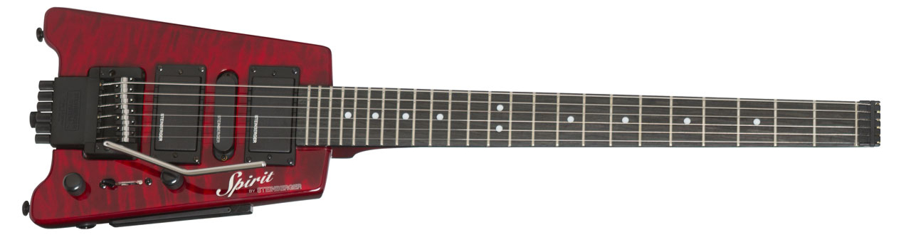 STEINBERGER Spirit GT-PRO Quilt Top Deluxe Wine Red