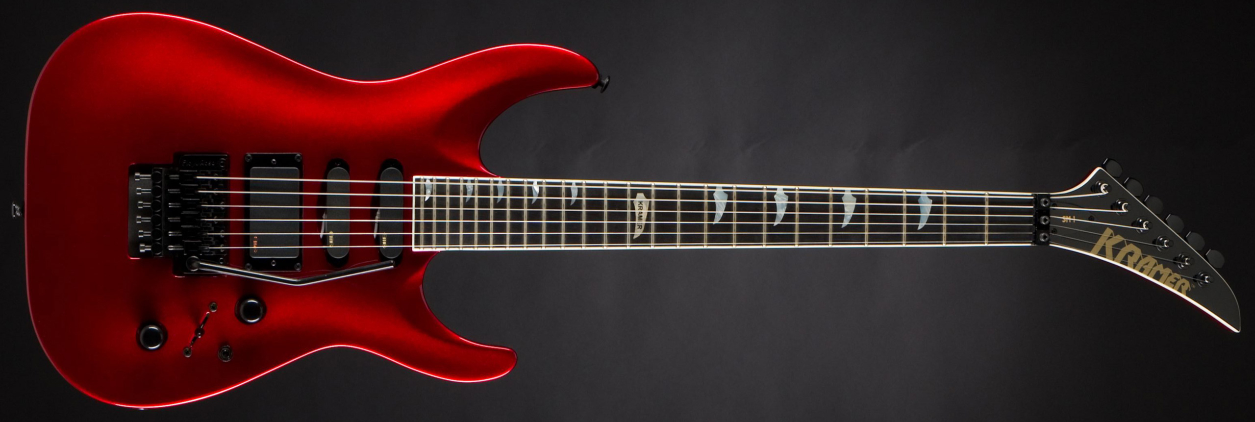 KRAMER SM-1 EMG Candy Red