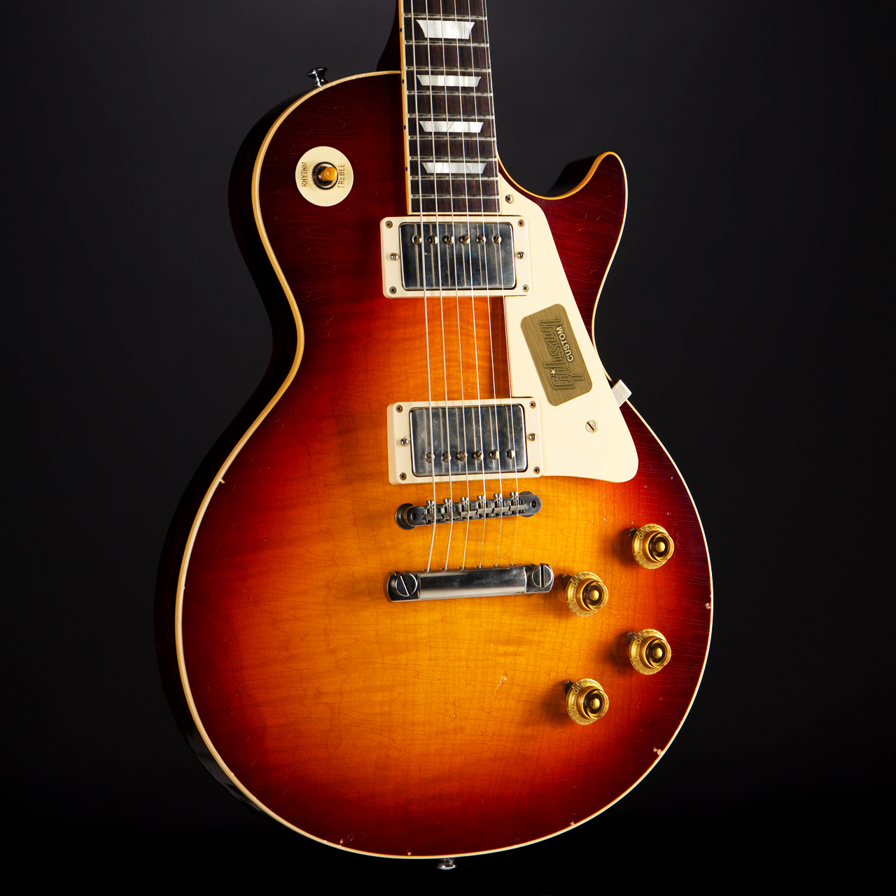 Gibson True Historic 1958 Les Paul Aged Vintage Cherry Burst Korpus