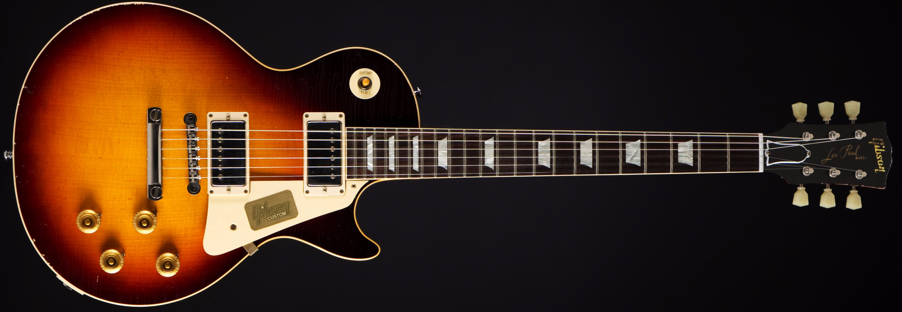 Gibson True Historic 1958 Les Paul Dark Burst Front