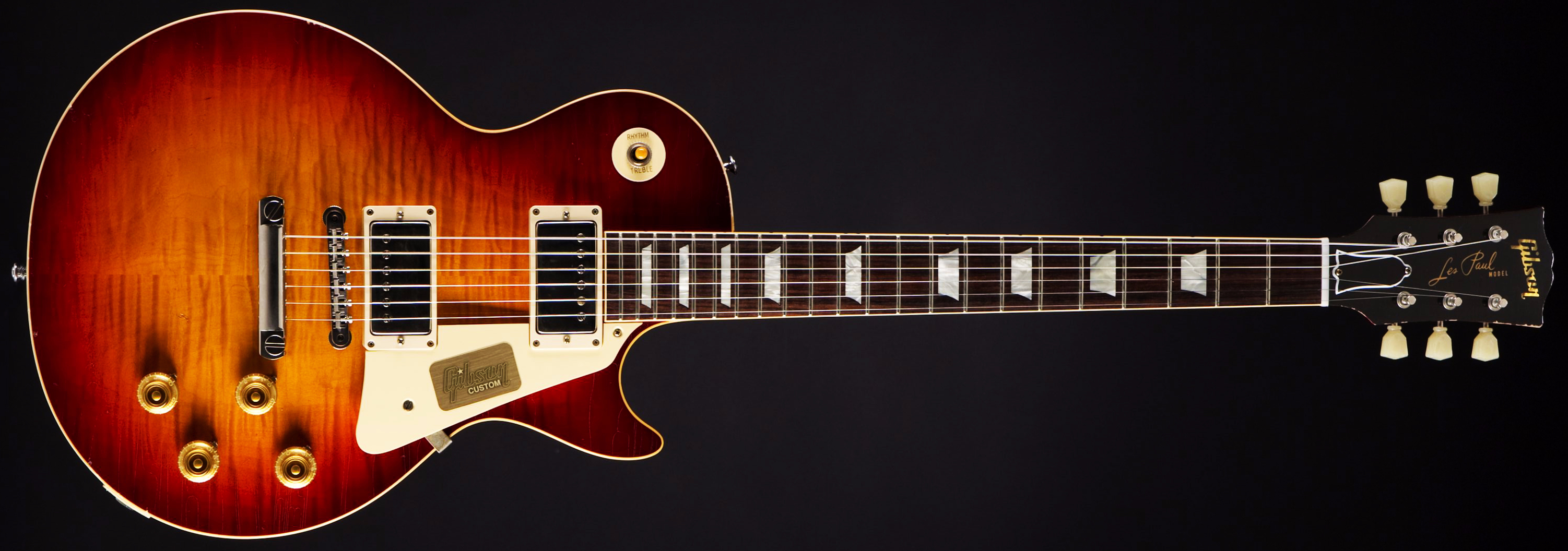 Gibson 1959 True Historic Les Paul Aged Cherry Burst Front