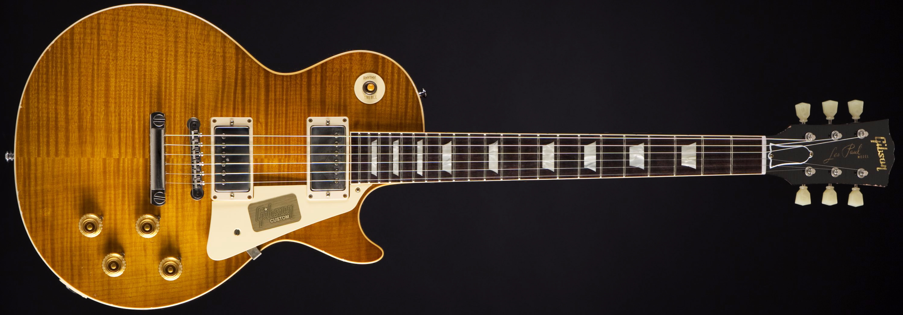 Gibson 1959 True Historic Les Paul Aged Lemon Burst Front