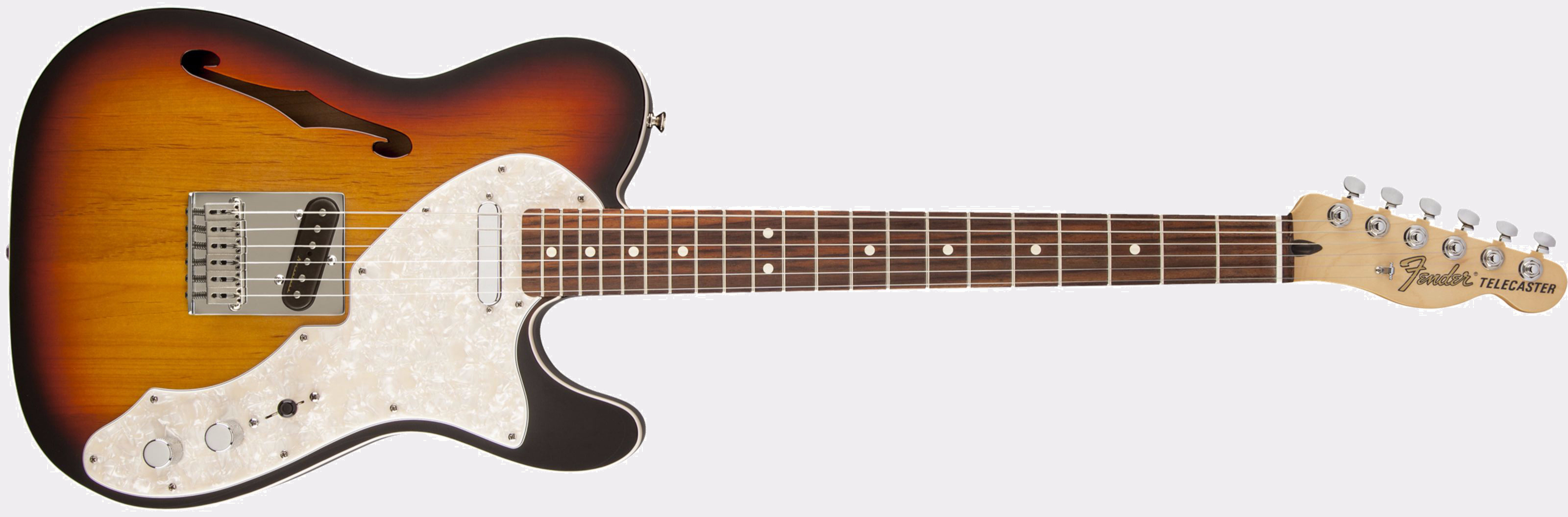 Deluxe Tele Thinline 3TS Front