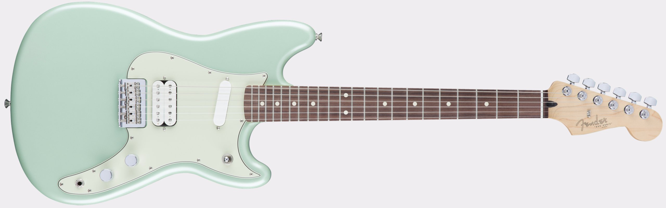 FENDER Duo-Sonic HS RW Surf Green