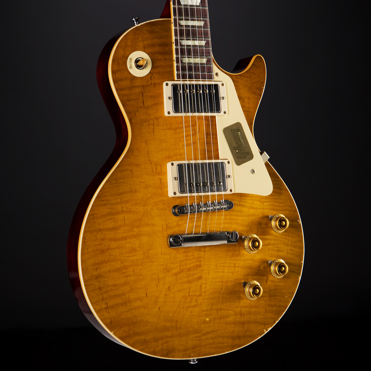 Gibson True Historic 1960 Les Paul Aged Vintage Lemon Burst Korpus