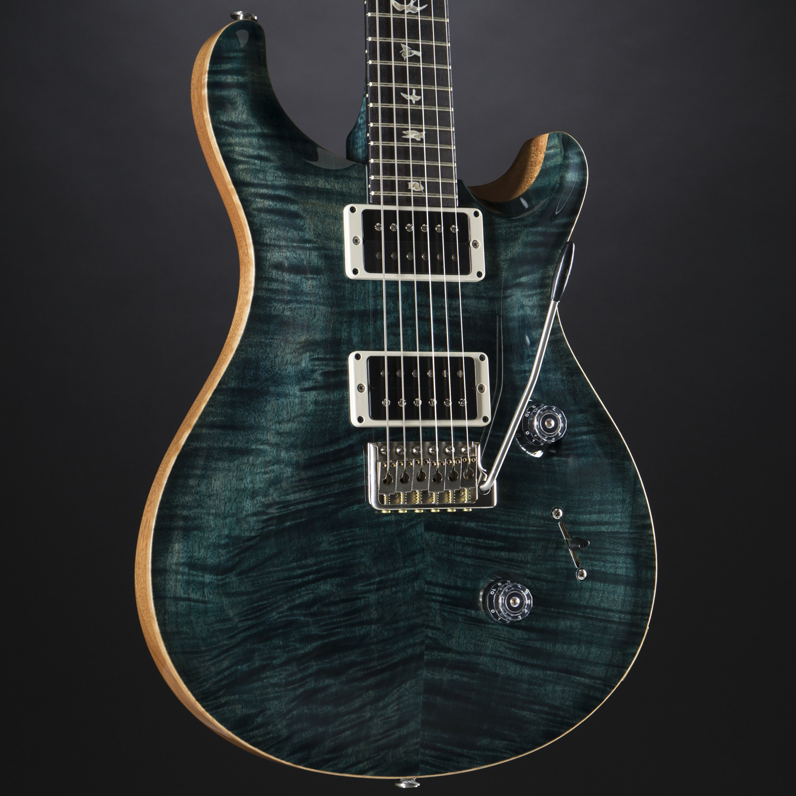 PRS Custom 24 10-Top Slate Blue #16 229683 Korpus