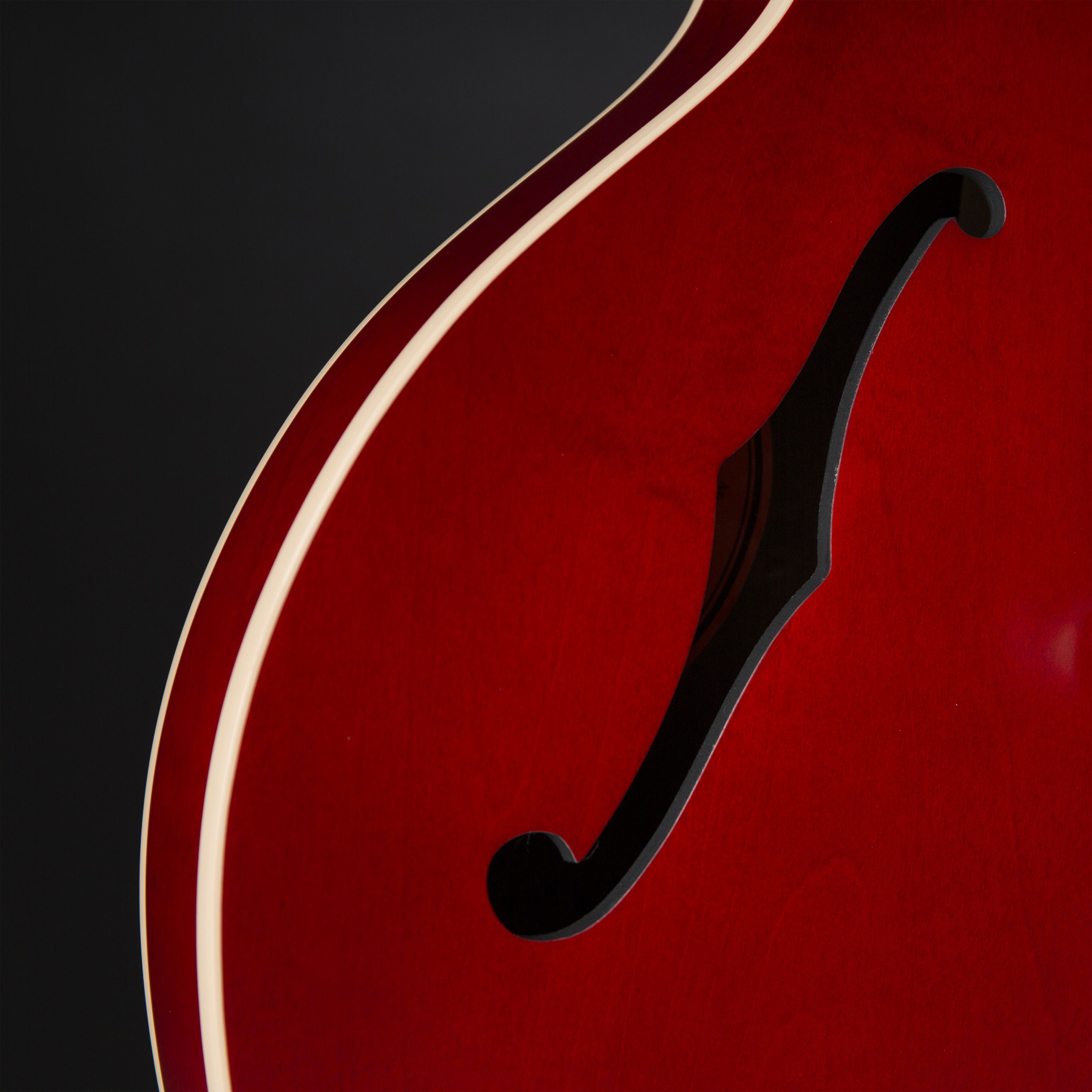 Gibson ES-335 Satin Faded Cherry #11476719 Detail