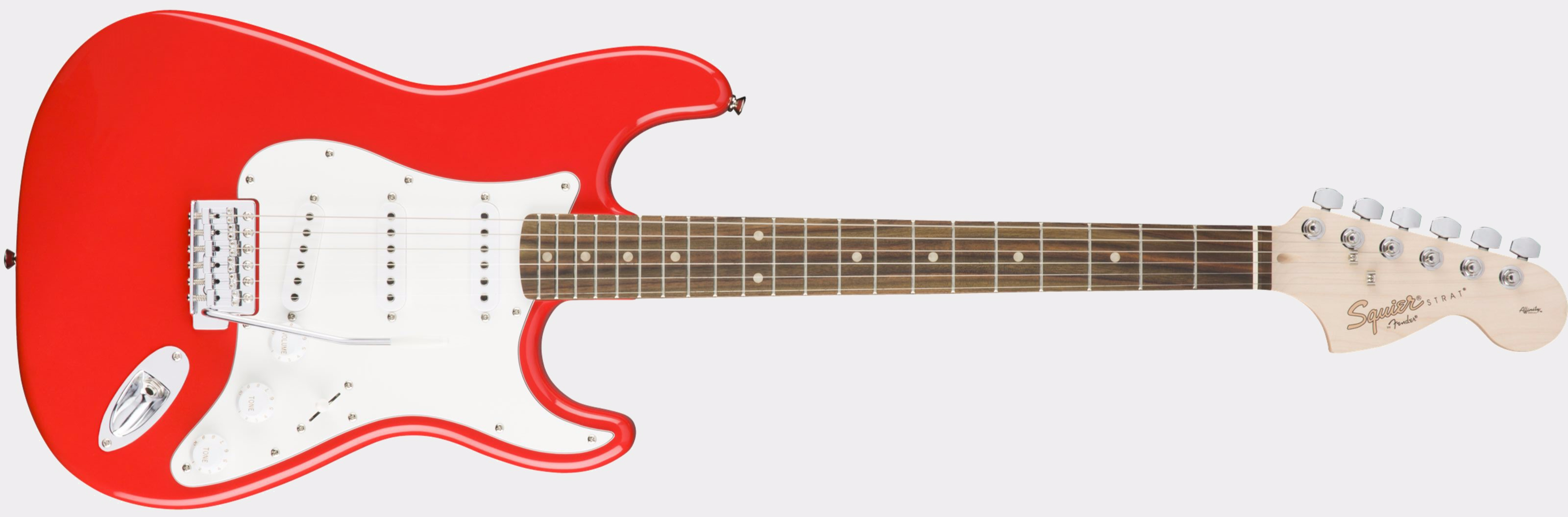 Squier Affinity Strat RW Race Red Front