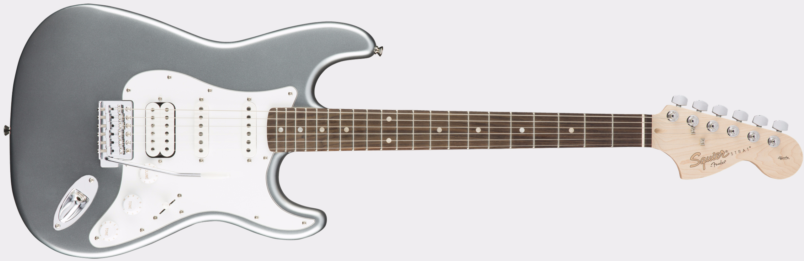 SQUIER Affinity Series Stratocaster HSS RW Slick Silver