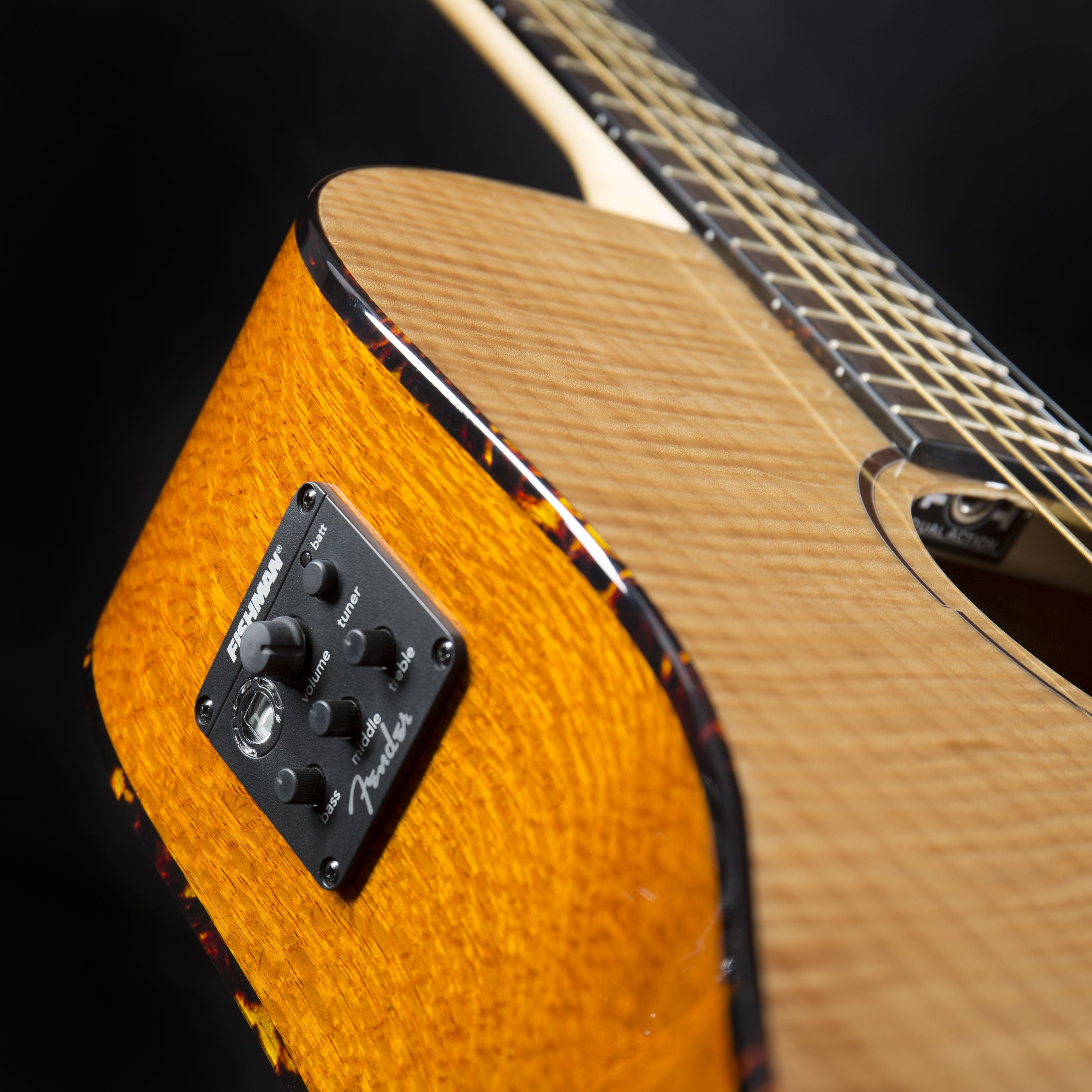 Fender T-Bucket 400-CE FLM MPL Natural